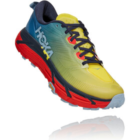 Hoka One One Mafate Speed 3 Shoes Men, provincial blue/fiesta